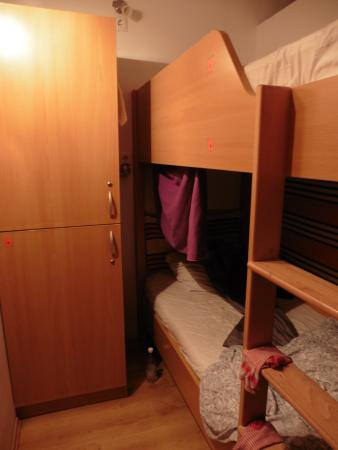 Broadway Hostel : dortoir