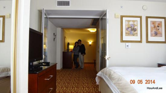 We stayed at this San Mateo Marriott many times! Liked it and got room upgrade almost every time