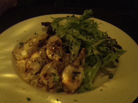 Franklin Cafe Cape Ann : Grilled Calamari