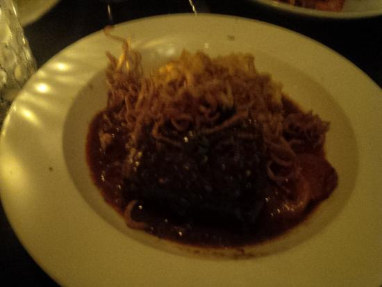 Franklin Cafe Cape Ann: Braised Beef Short Ribs with Butternet Squash Risotto