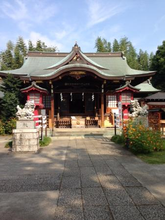 ‪Saginomiya Hachiman Shrine‬