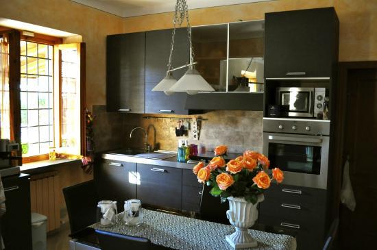 Pieve A Presciano, Italien: cucina