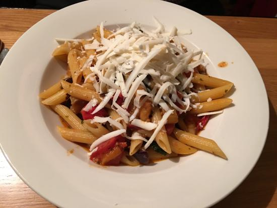 The Greyhound Enoteca: Penne al norma