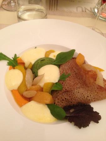 Roasted vegetable crepe picture of le gout du jour - Le gout du jour ...