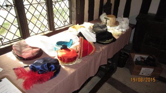 Selly Manor: Hats to try on!