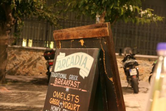 Arcadia Restaurant, Athen 1