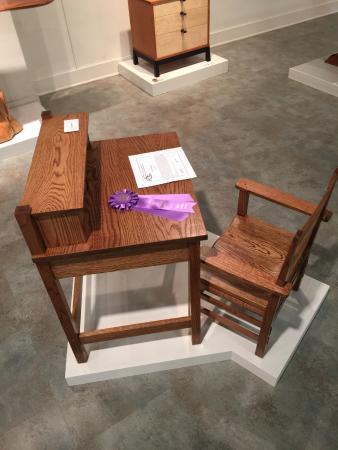 Kerr Arts & Cultural Center Inc.: kids desk by TJ