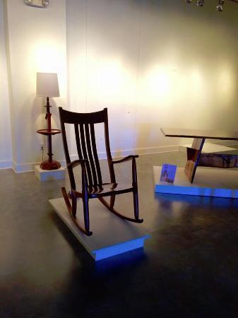 Kerr Arts & Cultural Center Inc.: rocker by Gary Weeks