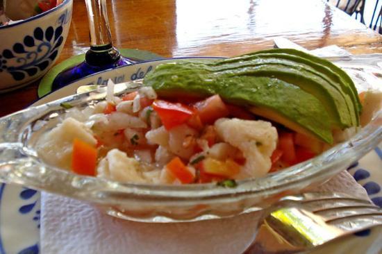Las Delicias: Shrimp Ceviche