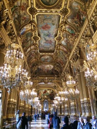 Paris, France: inside hall