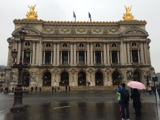 Paris, France: front view
