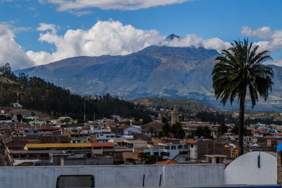 Hostal Chasqui: vue depuis la terrasse