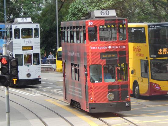 Hong Kong Tramways (Ding Ding): Colourful and iconic.