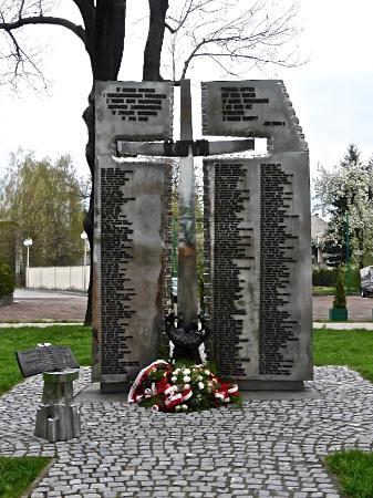 Krzyż Katyński w Wadowicach