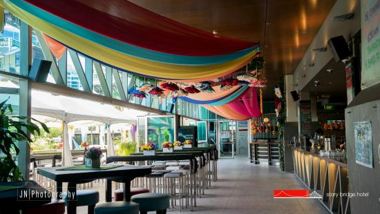 Shelter Bar on Melbourne Cup Story Bridge Hotel Picture of
