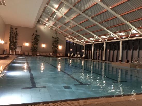 Swimming Pool At Night - Billede af Spa På Ramside, Durham-4096