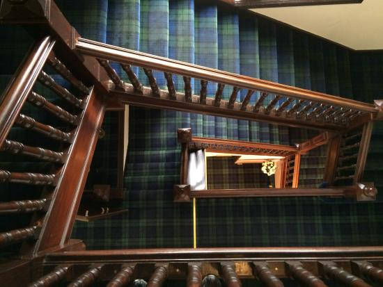 Royal Rooms & Apartments: Hotel staircase
