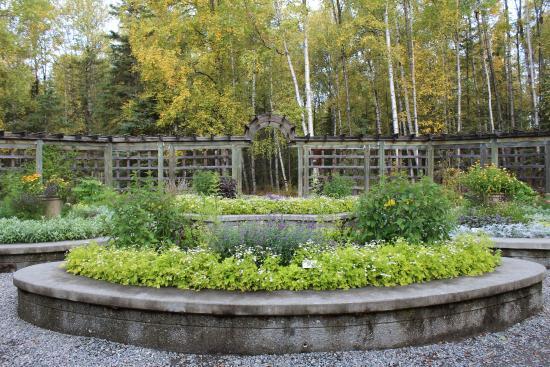 alaska botanical garden herb garden - Alaska Botanical Garden