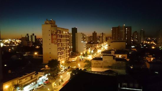Baños Quimicos General Pico Pampa:Foto de Hotel Calfucura, Santa Rosa: Vista desde el comedor piso 12