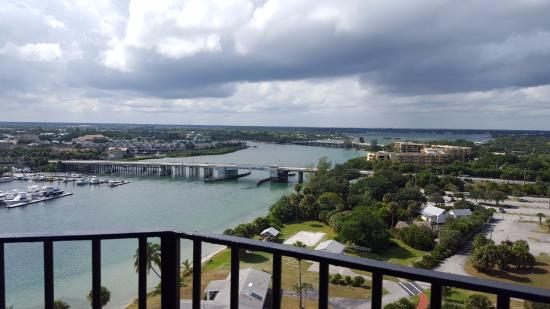 Jupiter, FL: View from the top of the lighthouse