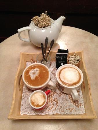 Louvre Michaelense: Coffee.