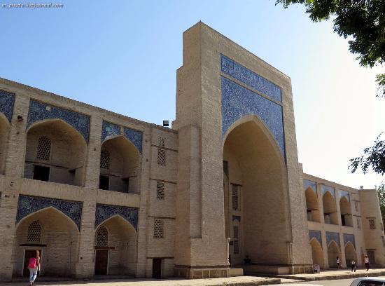 Kukeltash Madrasah: Наружный фасад.