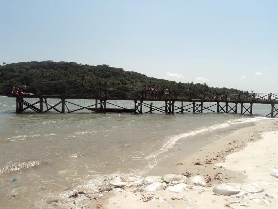 Barra de Catuama Beach: Excelente para fazer uma foto.