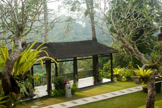 Beji Ubud Resort: Lower Garden