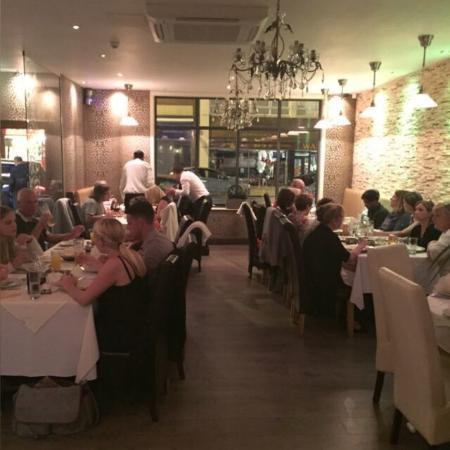Busy Friday Night At Amaia Restaurant Wakefield Picture