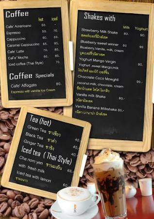 Koh Mak Restaurant Food Art Hut & German Bakery: Menue1
