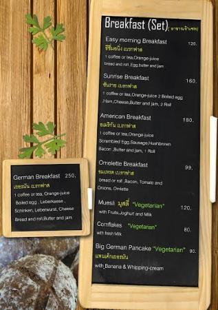 Koh Mak Restaurant Food Art Hut & German Bakery: Menue4
