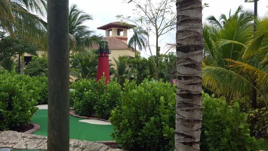 Jupiter, Flórida: Lighthouse Cove Adventure Golf