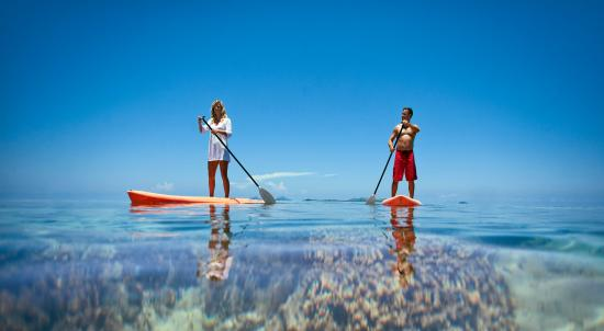 Fiji: Paddle boarding - Mamanuca Islands