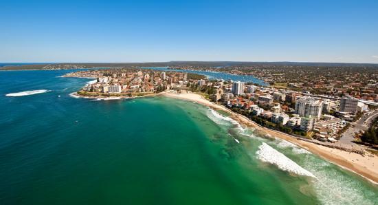 Sutherland Shire, Australia: Cronulla's pristine coastline