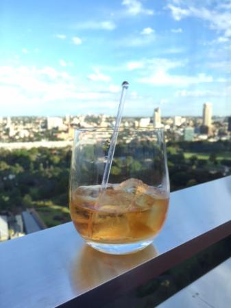 Whisky on the Rocks looking towards Hyde Park