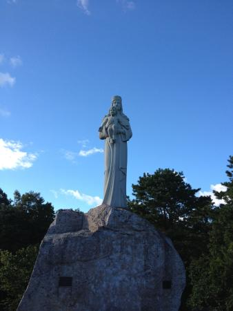 Manorville, Нью-Йорк: shrine of Our Lady