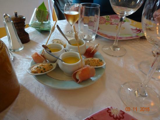 Sonzay, Γαλλία: Amuse bouche