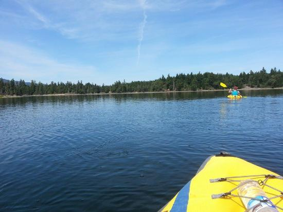 Spider Lake Provincial Park: out on the lake