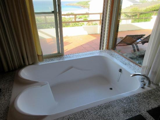 Red Garden Resort : Double bath with great views