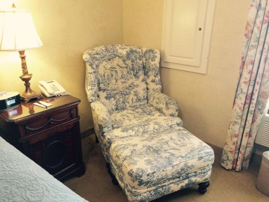 Church Street Inn: In room easy-chair