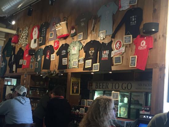 Long Trail Brewing Company: Interior