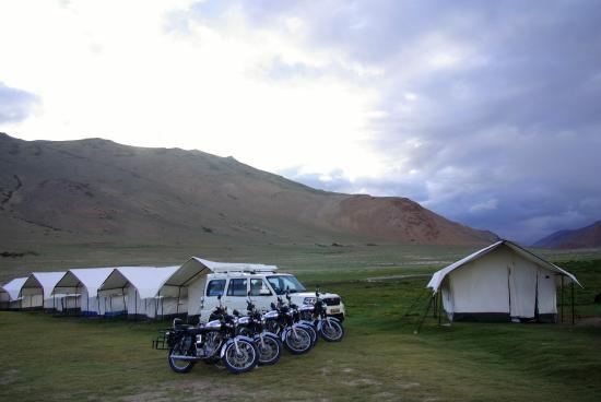 Adventure Camp Sarchu: Le camp