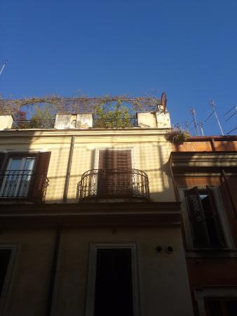 Residenza Ki Rome: Вид из окна
