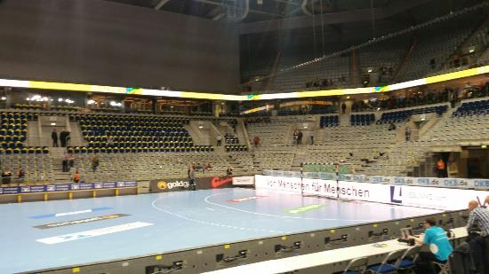 SAP Arena: 11. 11. 2015 ,  Rhein Neckar Löwen - SC Dhfk Leipzig  ( 1. Handball - Bundesliga )