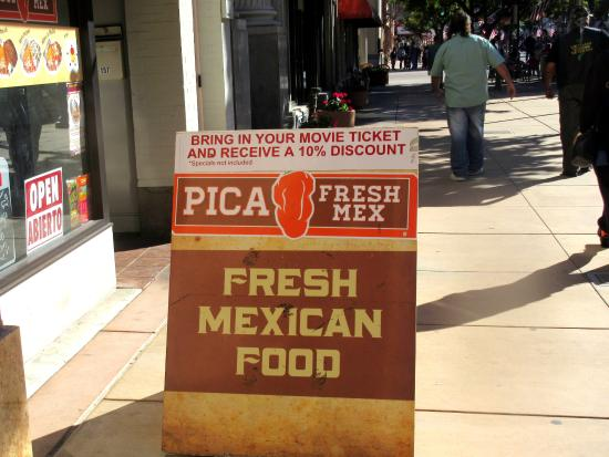 Pica Fresh Mex, Salinas, CA