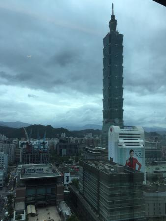 Humble House Taipei 101 View From Hotel Room