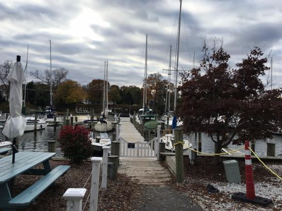 Arnold, MD: The view before entering the restaurant