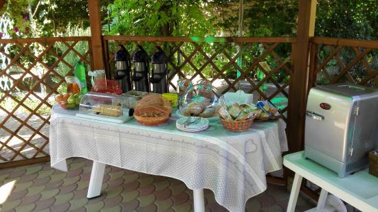 Villa I Nidi B&B: Colazione Buffet