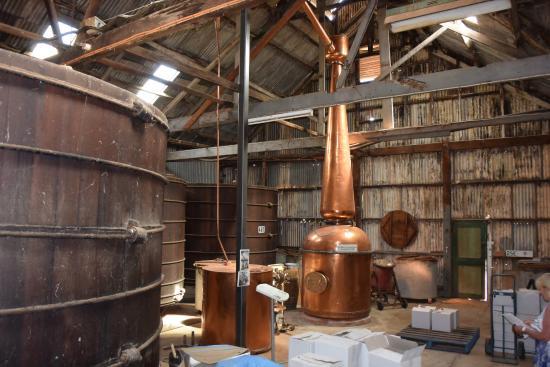 The Chaffey Trail: Beautiful copper brandy vat at Chateau Mildura winery/museum