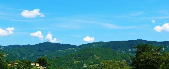 San Godenzo, อิตาลี: Il panorama dalla Germana